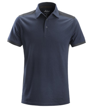 Snickers Workwear Snickers 2715 Polo AllroundWork Navy/Staalgrijs