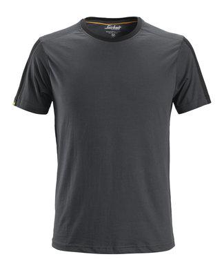 Snickers Workwear Snickers 2518 T-shirt AllroundWork Staalgrijs/Zwart