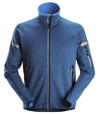 Snickers Workwear Snickers 8004 Werktrui Fleece AllroundWork Blauw