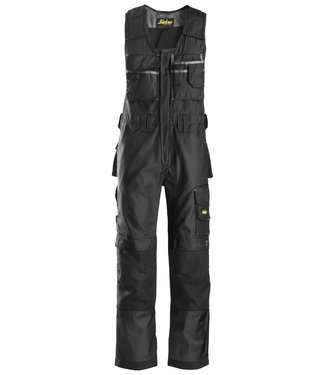 Snickers Workwear Snickers 0312 Amerikaanse Overall DuraTwill Zwart