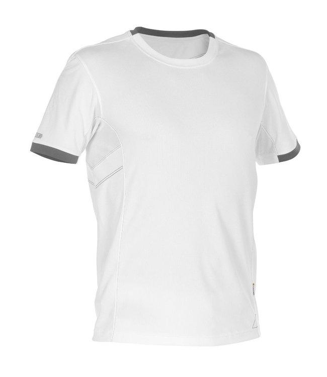 DASSY DASSY Nexus D-Flex T-Shirt Wit/Grijs