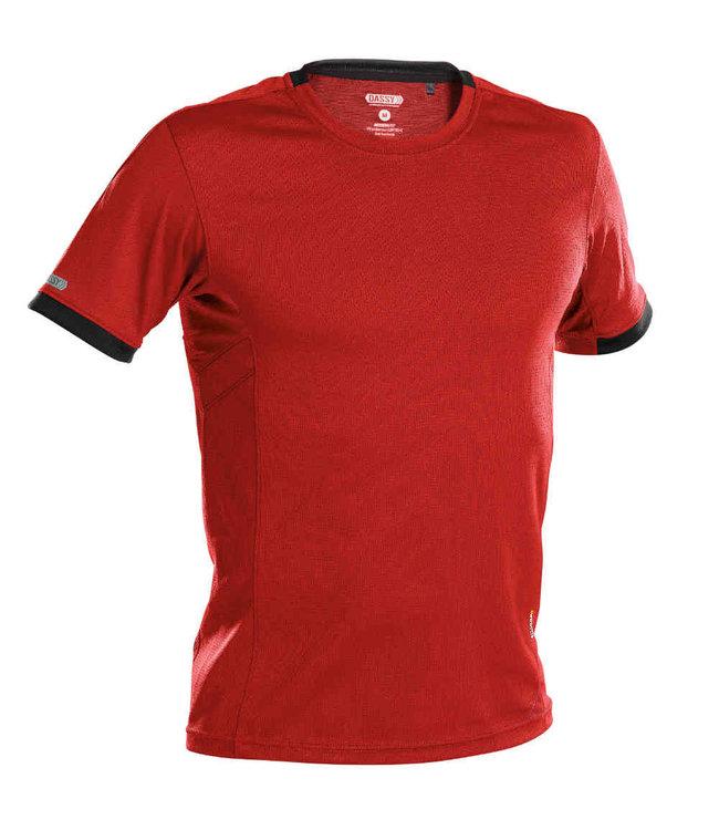 DASSY DASSY Nexus D-Flex T-Shirt Rood/Zwart