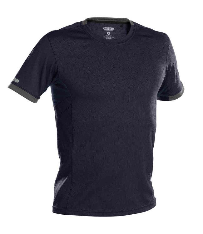 DASSY DASSY Nexus D-Flex T-Shirt Donkerblauw/Grijs