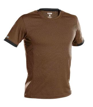 DASSY DASSY Nexus D-Flex T-Shirt Bruin/Grijs