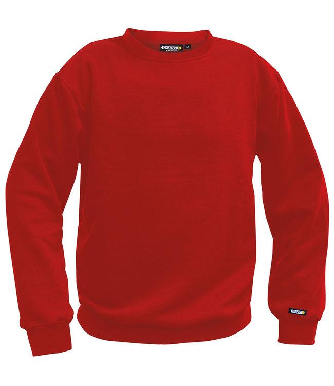 DASSY DASSY Lionel Werksweater Rood