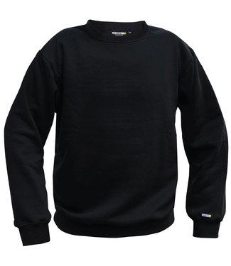 DASSY DASSY Lionel Werksweater Zwart