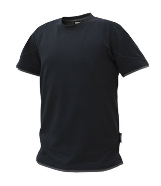DASSY DASSY Kinetic D-FX T-shirt Zwart/Grijs