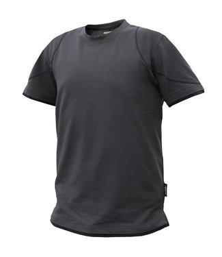 DASSY DASSY Kinetic D-FX T-shirt Grijs/Zwart
