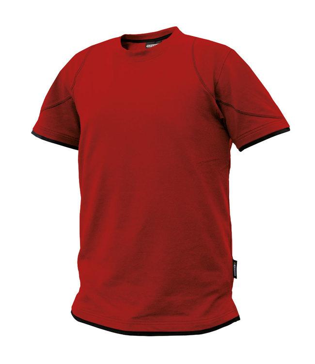 DASSY DASSY Kinetic D-FX T-shirt Rood/Zwart
