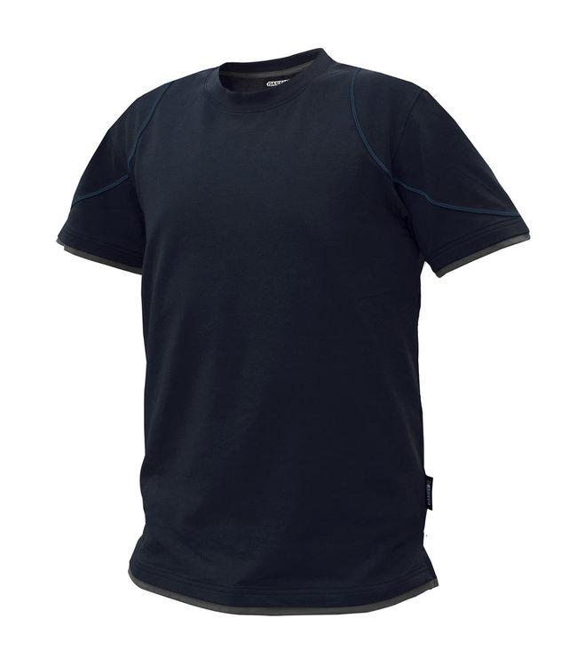 DASSY DASSY Kinetic D-FX T-shirt Donkerblauw/Grijs