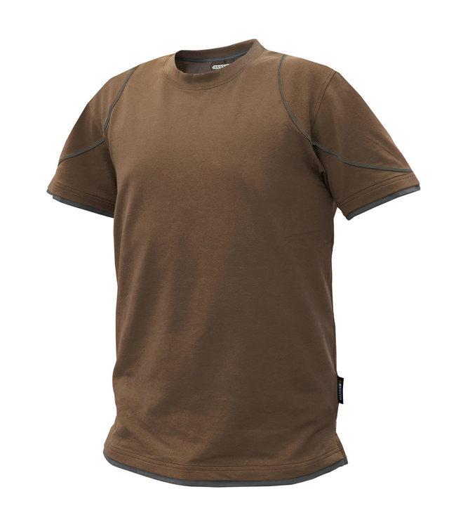 DASSY DASSY Kinetic D-FX T-shirt Bruin/Grijs