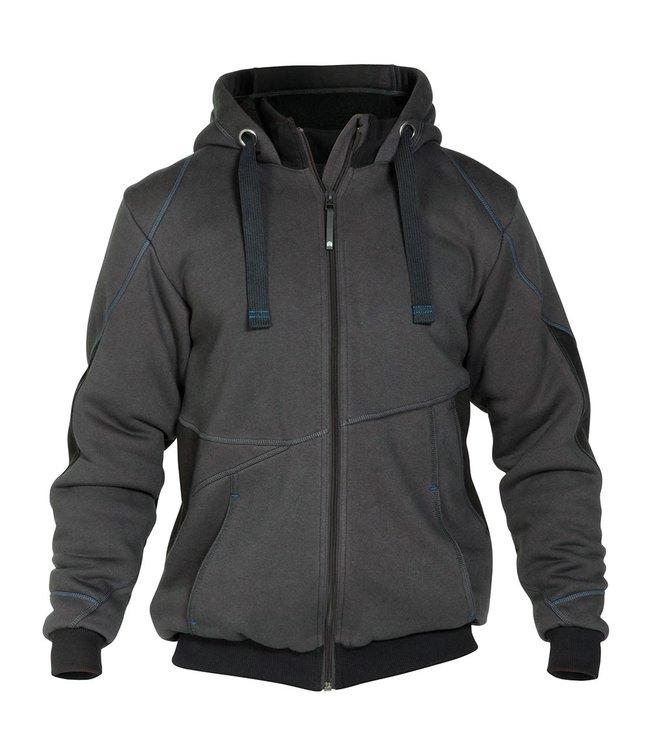 DASSY DASSY Pulse D-FX Werktrui Vest Gevoerd Grijs/Zwart
