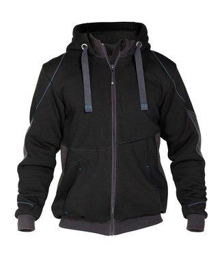 DASSY DASSY Pulse D-FX Werktrui Vest Gevoerd Zwart/Grijs