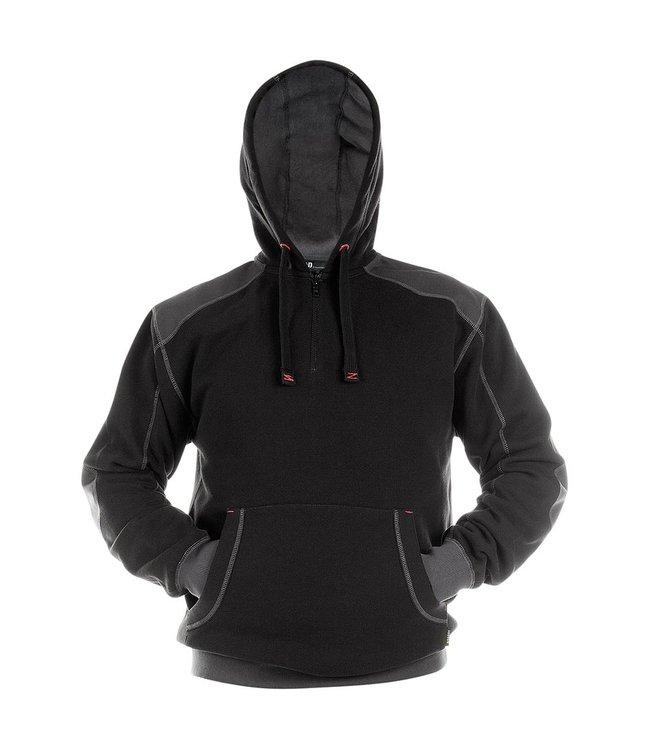DASSY DASSY Indy DNA Sweater met Capuchon Zwart/Grijs