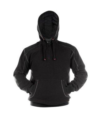 DASSY DASSY Indy DNA Sweater met Capuchon Zwart