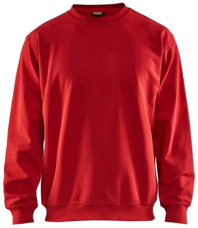 Blaklader Blaklader 3340 Werksweater Ronde Hals Rood