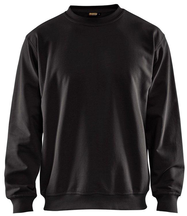 Blaklader Blaklader 3340 Werksweater Ronde Hals Zwart