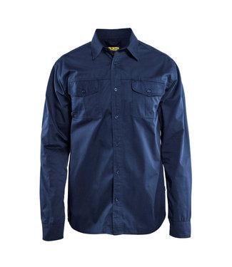 Blaklader Blaklader 3298 Werkoverhemd Twill Marineblauw