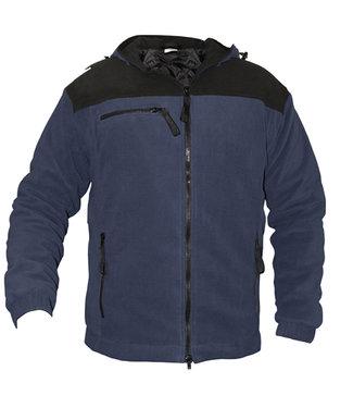 Basicline Basicline Moscou Fleece Werkjas Gevoerd Donkerblauw/Zwart