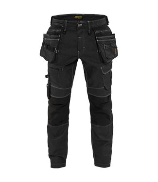 Blaklader Blaklader 1990 Werkbroek Denim Stretch Zwart