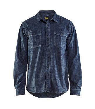 Blaklader Blaklader 3295 Werkoverhemd Denim Marineblauw