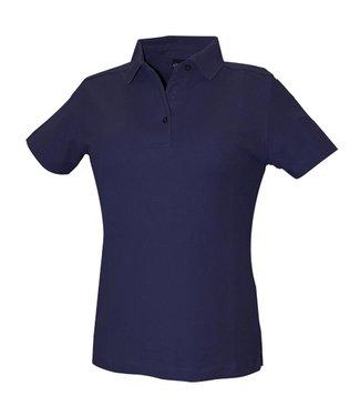 DASSY DASSY Leon Dames Polo Marineblauw