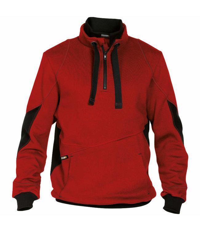 DASSY DASSY Stellar D-FX Werktrui Sweater Rood/Zwart