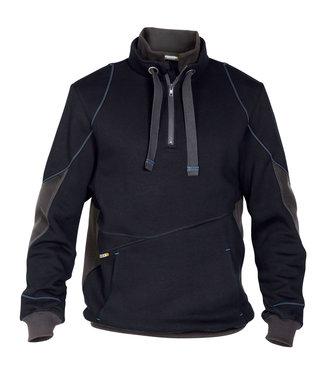 DASSY DASSY Stellar D-FX Werktrui Sweater Donkerblauw/Grijs