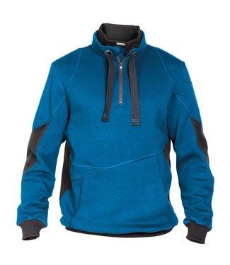DASSY DASSY Stellar D-FX Werktrui Sweater Lichtblauw/Grijs