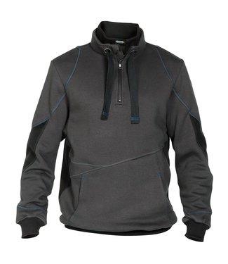 DASSY DASSY Stellar D-FX Werktrui Sweater Grijs/Zwart