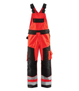 Blaklader Blaklader 2660 Reflecterende Bretelbroek Klasse 2 Rood/Zwart