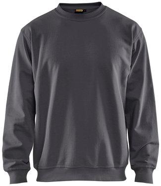 Blaklader Blaklader 3340 Werksweater Ronde Hals Donkergrijs