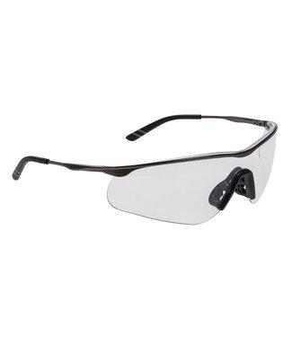 Veiligheidsbril Tech Metaal Helder