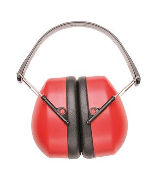 Gehoorkap Premium Rood SNR 30 dB