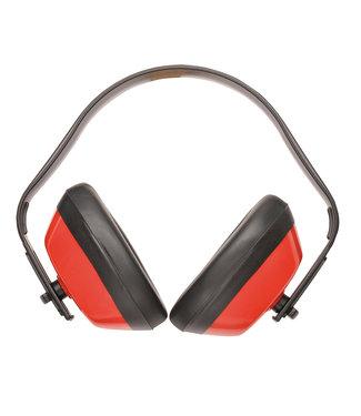 Portwest Gehoorkap Basic Rood SNR 28 dB