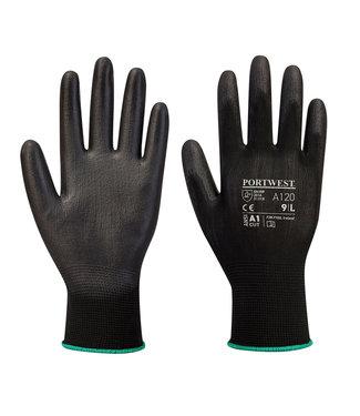 Portwest PU Classic Handschoenen Zwart