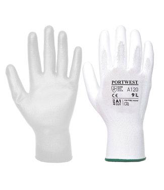 PU Classic Handschoenen Wit