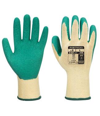 Portwest Latex Classic Handschoenen Groen
