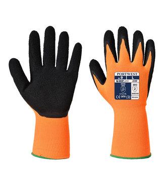 Portwest Latex Comfort Handschoenen Fluo Oranje