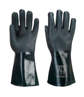 Portwest PVC Handschoenen Zwart 35 cm
