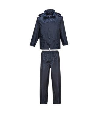 Portwest L440 Regenpak Basic Donkerblauw
