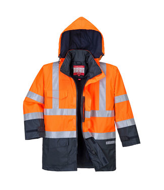 Bizweld Brandvertragende Winter Werkjas FR-AST Oranje