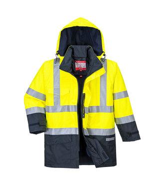 Portwest Bizweld Brandvertragende Winter Werkjas FR-AST Geel