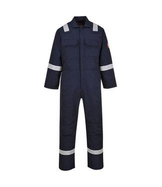 Bizweld Brandvertragende Overall FR-AST Donkerblauw