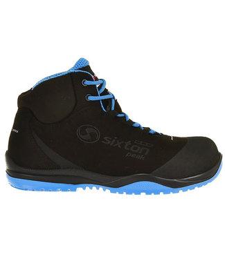 Sixton Sixton Cuban Werkschoenen Zwart/Blauw Hoog S3