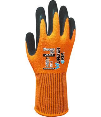 Wonder Grip Thermo Lite Handschoenen Oranje