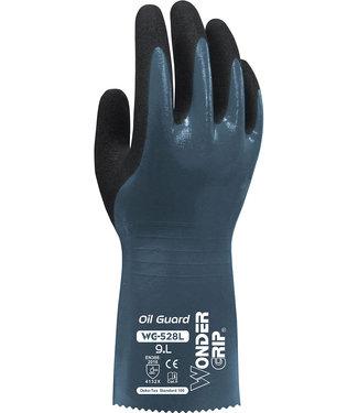 Wonder Grip Oil Guard Handschoenen Grijs