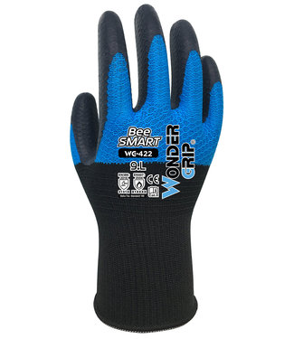 Wonder Grip Bee-Smart Handschoenen Blauw