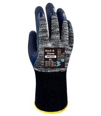 Wonder Grip Rock & Stone Handschoenen Grijs