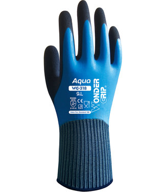 Wonder Grip Wonder Grip Aqua Handschoenen Blauw